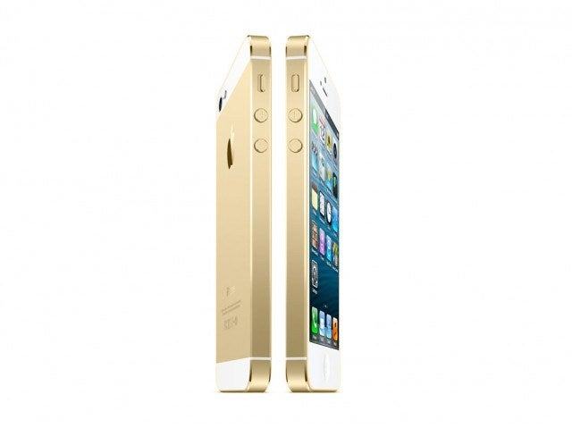 Sí, Apple venderá un iPhone 5S dorado
