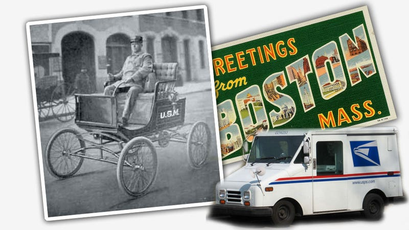 Boston Was The First To Deliver Mail By Car