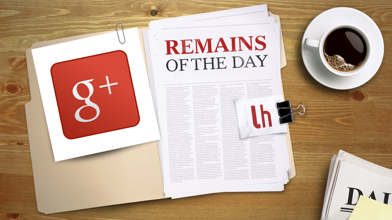 Remains of the Day: Google+ Mobile App Updates Bring Photo Editing and Communities