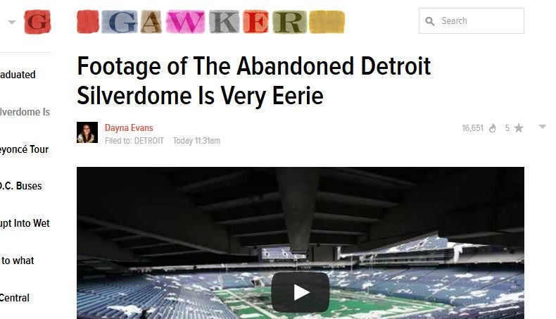 Once Again, Gawker Is Absolutely Fucking Clueless About Detroit