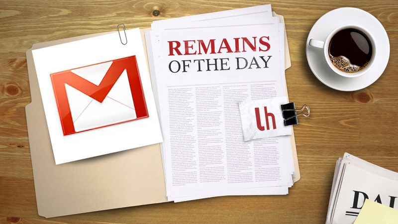 Remains of the Day: Gmail's Mobile Webapp Gets a Face Lift