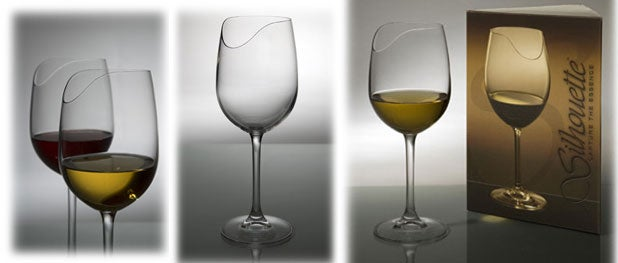 Your Nose Knows the Silhouette Wine Glass Works