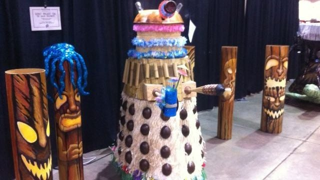 The Tiki Dalek is the supreme life form in the universe, especially after a couple of fruity drinks