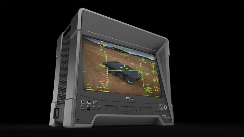 Because You Always Wanted A PC That Looked Like A Drone Terminal