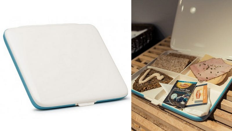 A Laptop-Thin Lunchbox For Fans of Crepes and Flatbreads