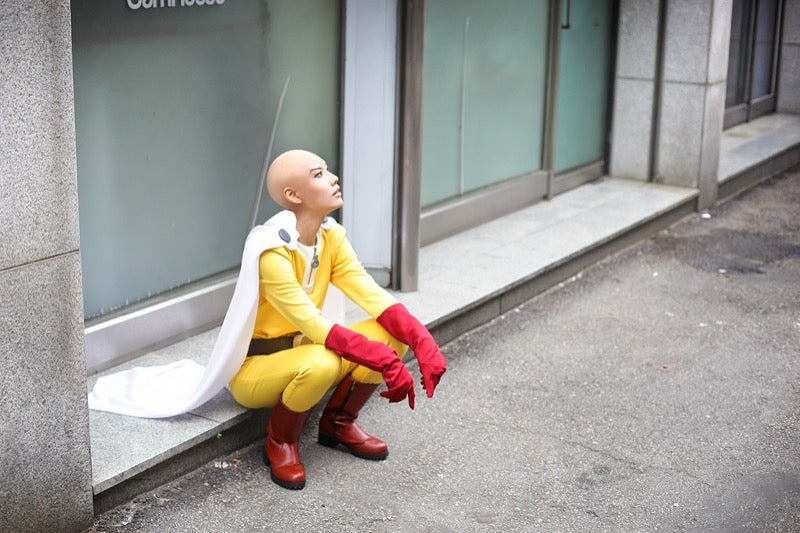 One-Punch Man Cosplayers, You Might Need This