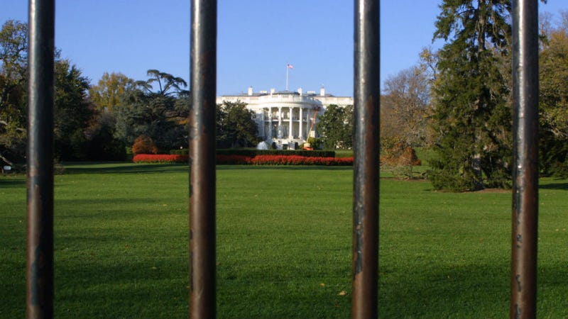 Adorable 'Fence Baby' Causes White House Lockdown
