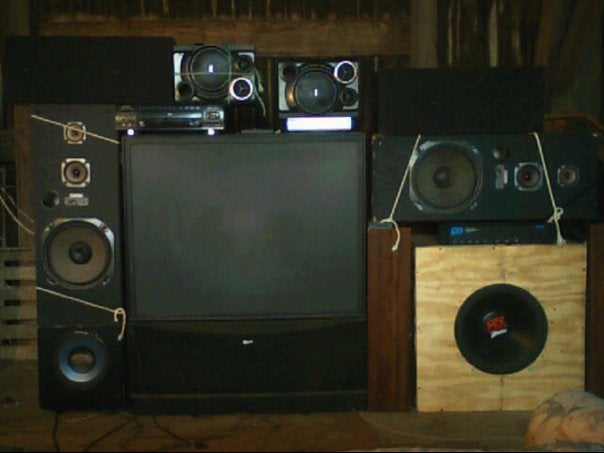 Nice Home Theater! We'll Help You Set it Up