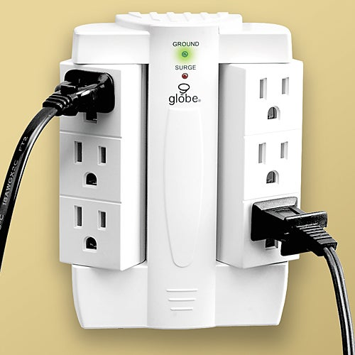 Swivel Sockets: 90 Degree Rotating Outlets Help Conserve Space