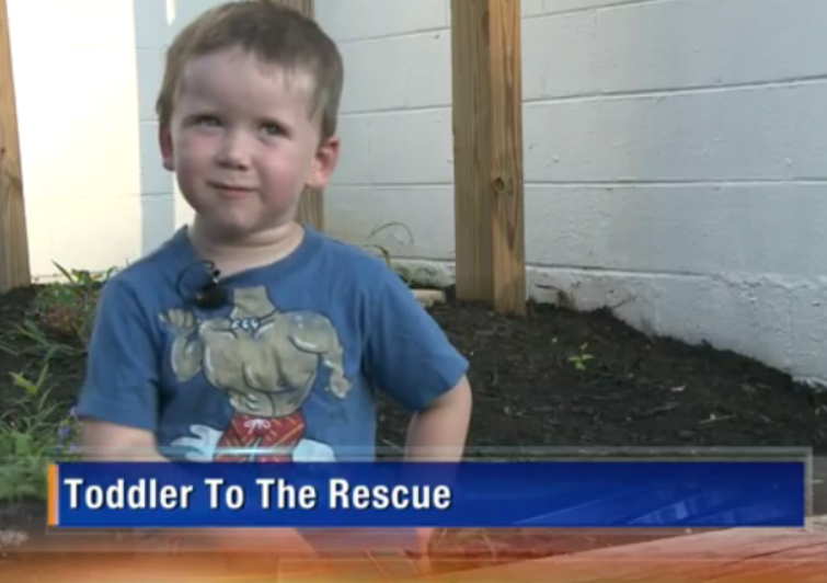 Kid Turns the Tables and Rescues an Adult Trapped in a Hot Car