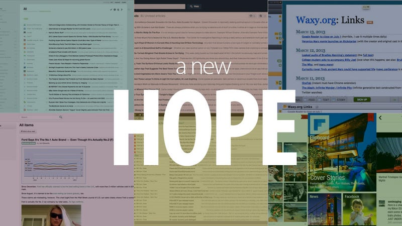 What's Your Pick for a Google Reader Replacement?