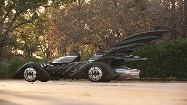 Black sheep of the Batmobiles at auction today