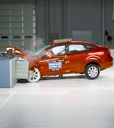 Ford Fiesta First Minicar To Snag IIHS Top Safety Pick Award