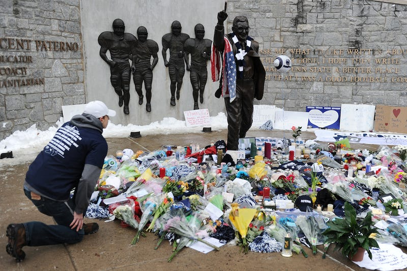 Statue Of Joe Paterno Will Stand, For Now