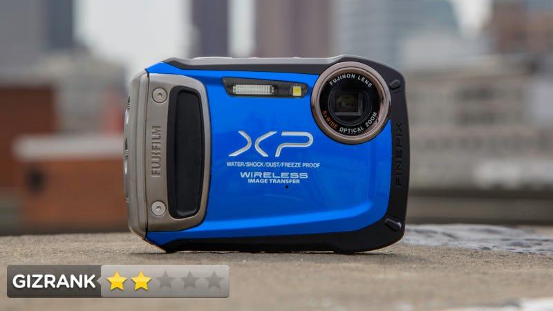 Fuji FinePix XP170 Camera Review: At Least It's Waterproof