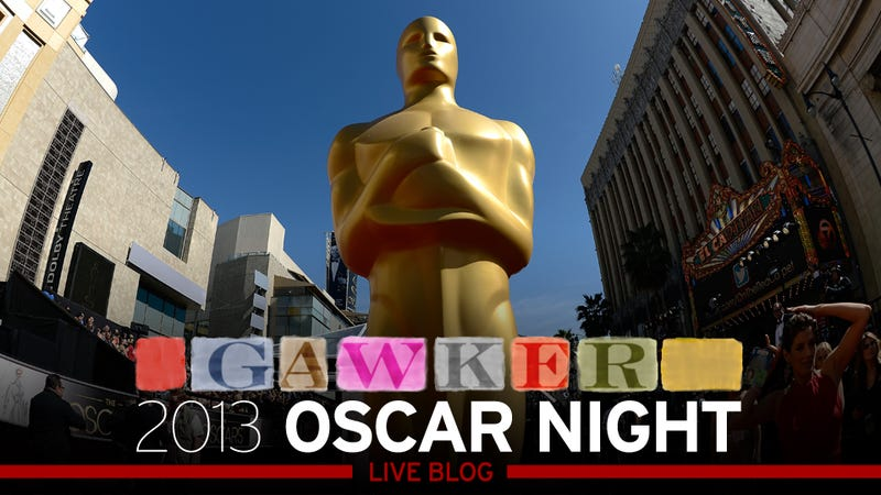Welcome to the Gawker Oscars Live-Blog