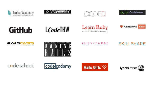 Learn Ruby with This Collection of 29 Great Online Courses and Tools
