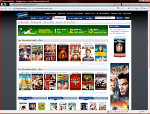Blockbuster OnDemand Download Service Coming to Blu-ray Players, Soon
