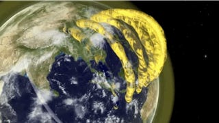 Large Plasma Tubes Confirmed to Exist Above The Earth's Atmosphere
