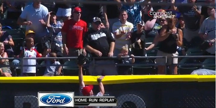A.J. Pierzynski's Home Run Hit A Toddler Because Two Adults Got Themselves Out Of Harm's Way