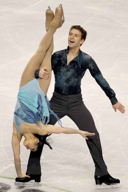 Ice Dancers Do The Darnedest Things