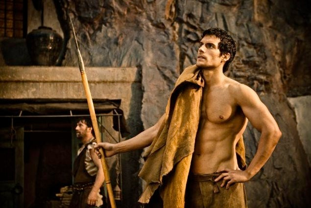 In Immortals, you'll upskirt the gods — and you'll like it