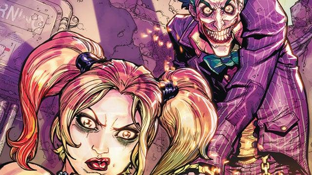 The Joker And Harley Quinn Run Wild In The Batman: Arkham City Comic Series
