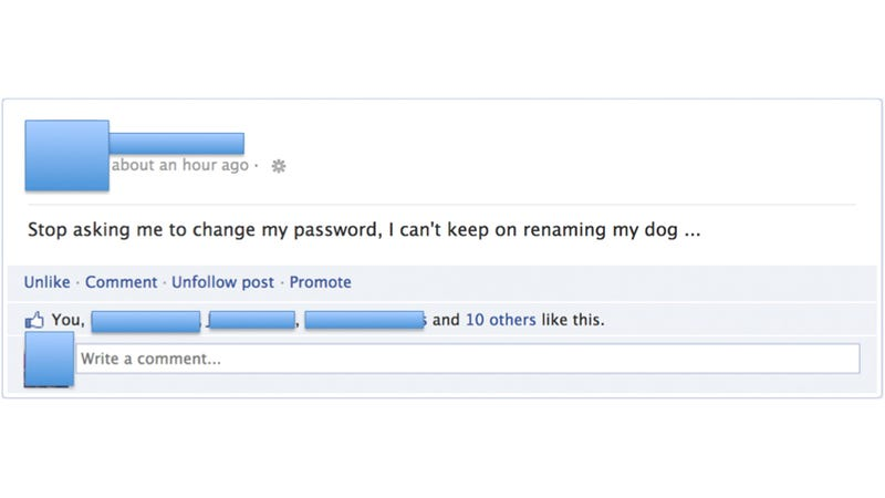 We Can't Keep Changing Our Passwords