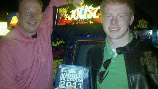 Arcade Legend Sets Joust Tandem Record — With His Son