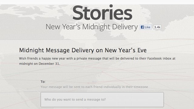 Facebook Spam Everyone You Know a 'Happy New Year' Message Right at Midnight on January 1st