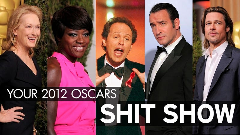 Your 2012 Oscars Shit Show