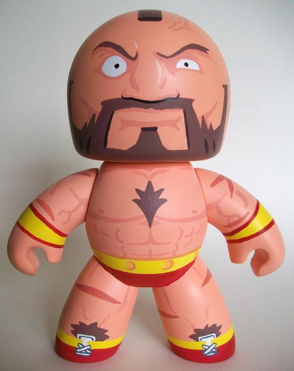Street Fighter Mighty Muggs Will Punch You In The Shins