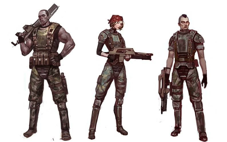 These Are The Four Playable Co-Op Characters in Aliens: Colonial Marines