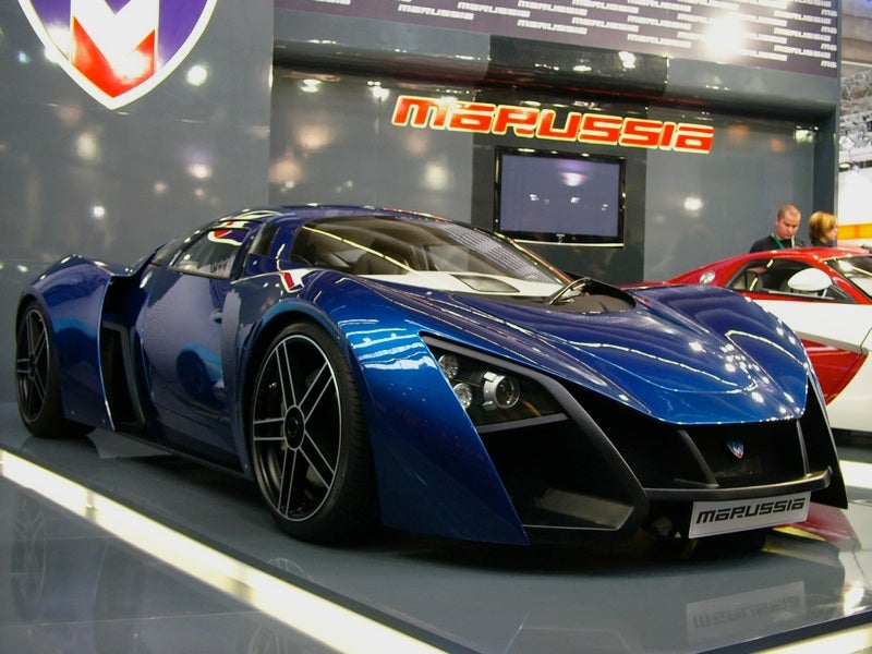 Marussia B2: Russia's Second Super Car