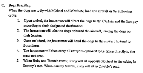 Mandatory Boxer Briefs, Takeoff Songs, and Dog Hierarchy: Life Aboard the Abercrombie & Fitch Private Jet