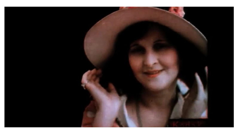 Fascinating 1922 Kodachrome Footage Shows Actresses Flirting in Color