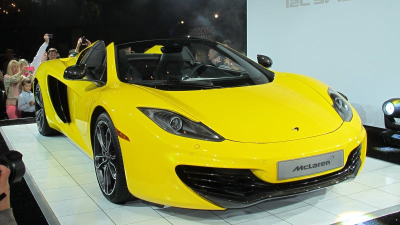 See The McLaren 12C Spider Live At Pebble Beach