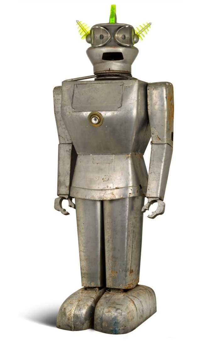 One of the world's first true robots has sold for $27,660 at auction