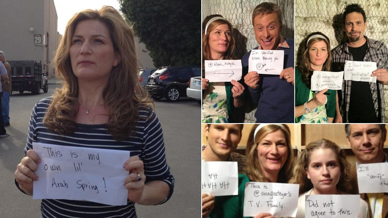 Dear Twitter, Please Verify Me, Love, Ana Gasteyer (Updated)