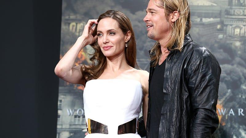 Guys, Angelina Jolie Looks So Freaking Happy
