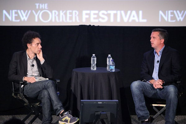 Field Trip: Simmons And Gladwell At The New Yorker Festival, Falling In And Out Of Love