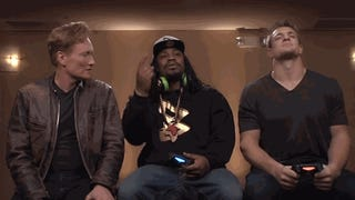 Marshawn Lynch's Outtakes From Gaming With Gronk Are Also Very Funny