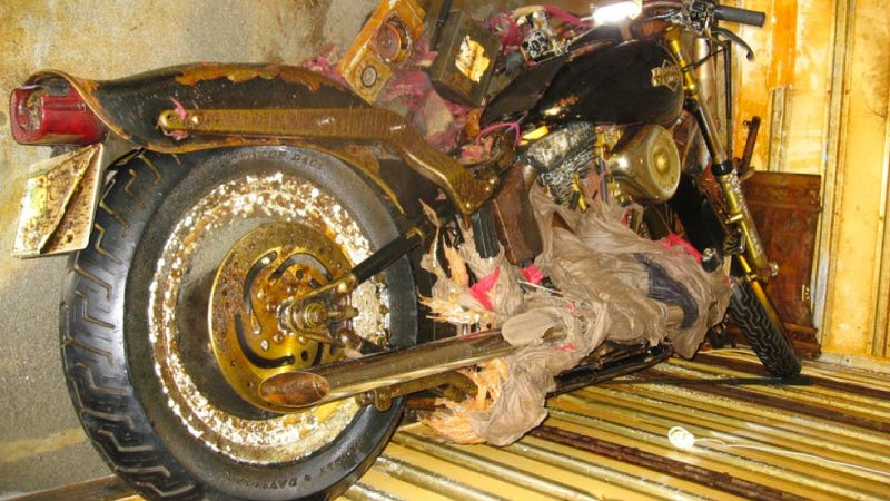 Harley Swept Across Ocean By Tsunami Will Be Preserved As Memorial