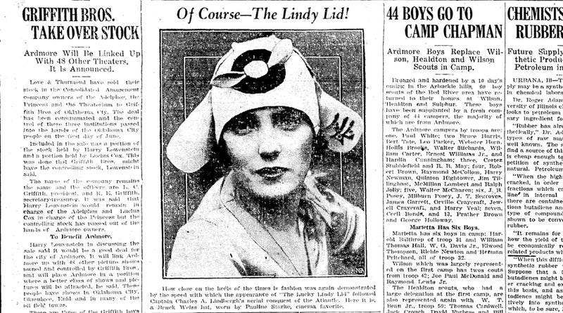 The Lindy Lid: A Forgotten Fashion Craze From The Golden Age of Flight