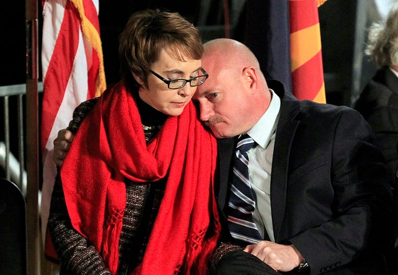 'Our Leaders Don't Have the Courage to Act': Gabby Giffords' Husband Rips Gun Laws at Loughner Sentencing