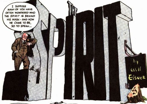 12 Splash Pages Will Convince You Frank Miller Shouldn't Adapt The Spirit