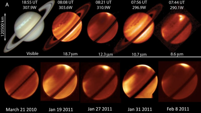 Deep inside the biggest storm we've ever seen on Saturn
