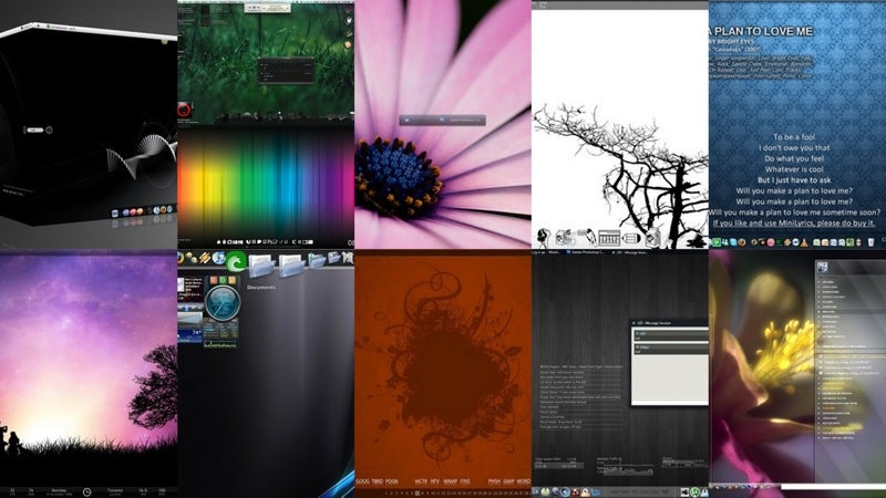 Most Popular Desktops of 2008