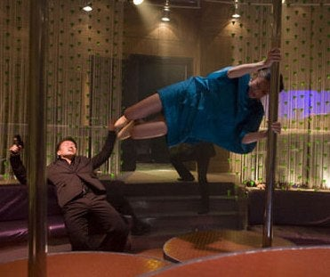 Kristin Kreuk Lets Her Chun-Li Legs Fly, Yuuup Yup!