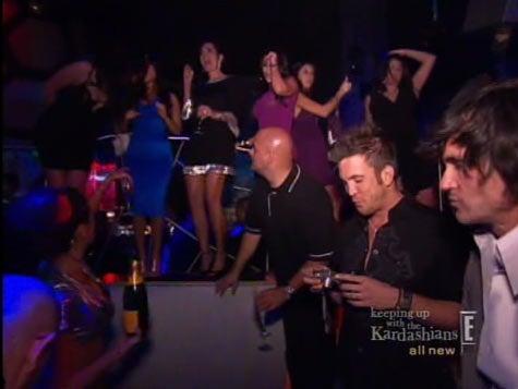 Kourtney Kardashian Isn't Knocked Up; The Family Celebrates In Vegas